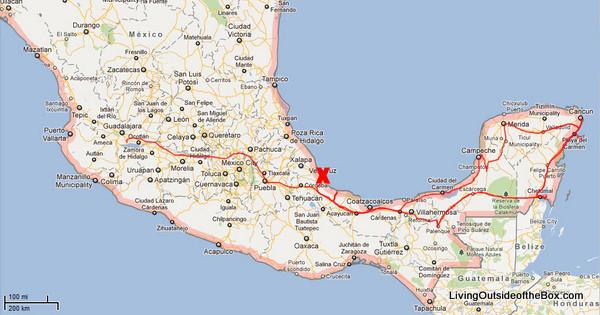 A Very Modern Veracruz Mexico Living Outside Of The Box Living