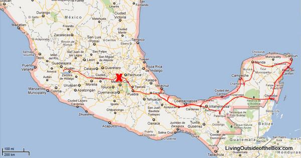 The cost of a Yucatan Road Trip - Living Outside of the Box | Living Yucatan Road Map on london road map, bahia road map, quintana roo road map, england road map, somerset road map, portland road map, scotland road map, india road map, brazil road map, playa del carmen road map, sao paulo road map, chihuahua road map, ireland road map, italy road map, merida map, colombia road map, mexico road map, south australia road map, yukon road map, norfolk road map,