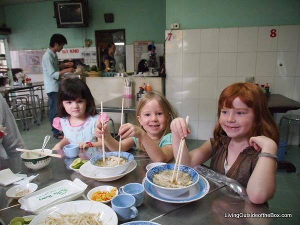 Touring with Saigon Street Eats - Living Outside of the Box
