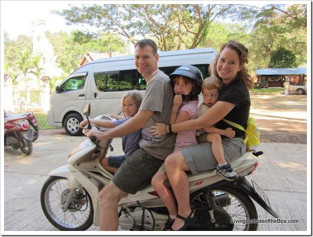 1-family on bike