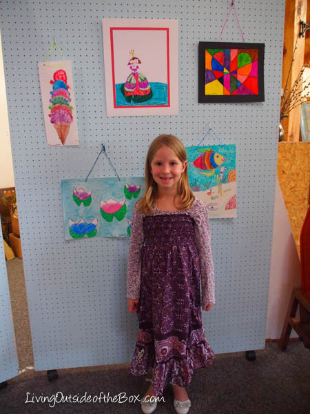 Kids Art Exhibit Homeschool