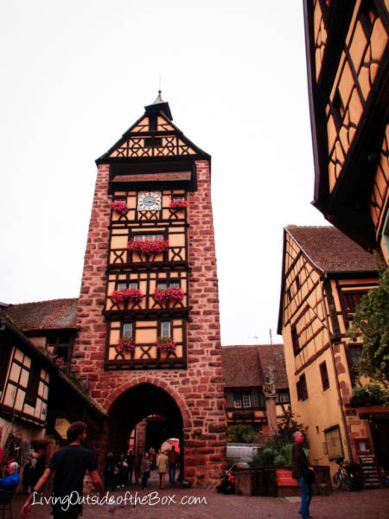 The Old Medieval Town Of Riquewihr France Living