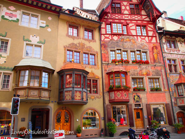 Stein Am Rhein Switzerland The Painted Village