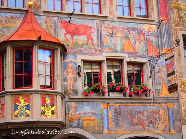 Stein Am Rhein Switzerland The Painted Village