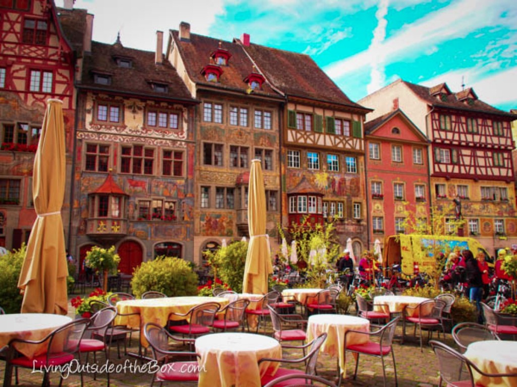 stein am rhein switzerland the painted village living outside of the box living outside. Black Bedroom Furniture Sets. Home Design Ideas