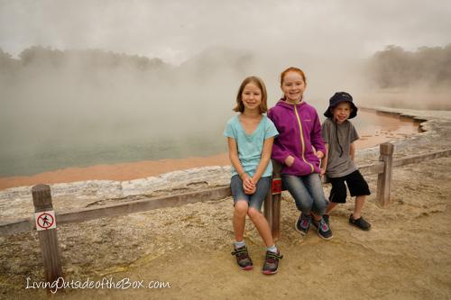 Wai-o-Tapu Rotorua with kids New Zealand-43