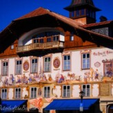 Oberammergau and Mittenwald, Germany