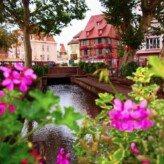 Visiting Kaysersberg and Colmar, France