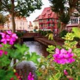 Visiting Kaysersberg and Colmar, France