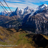 Cables Cars up to Schilthorn, Switzerland